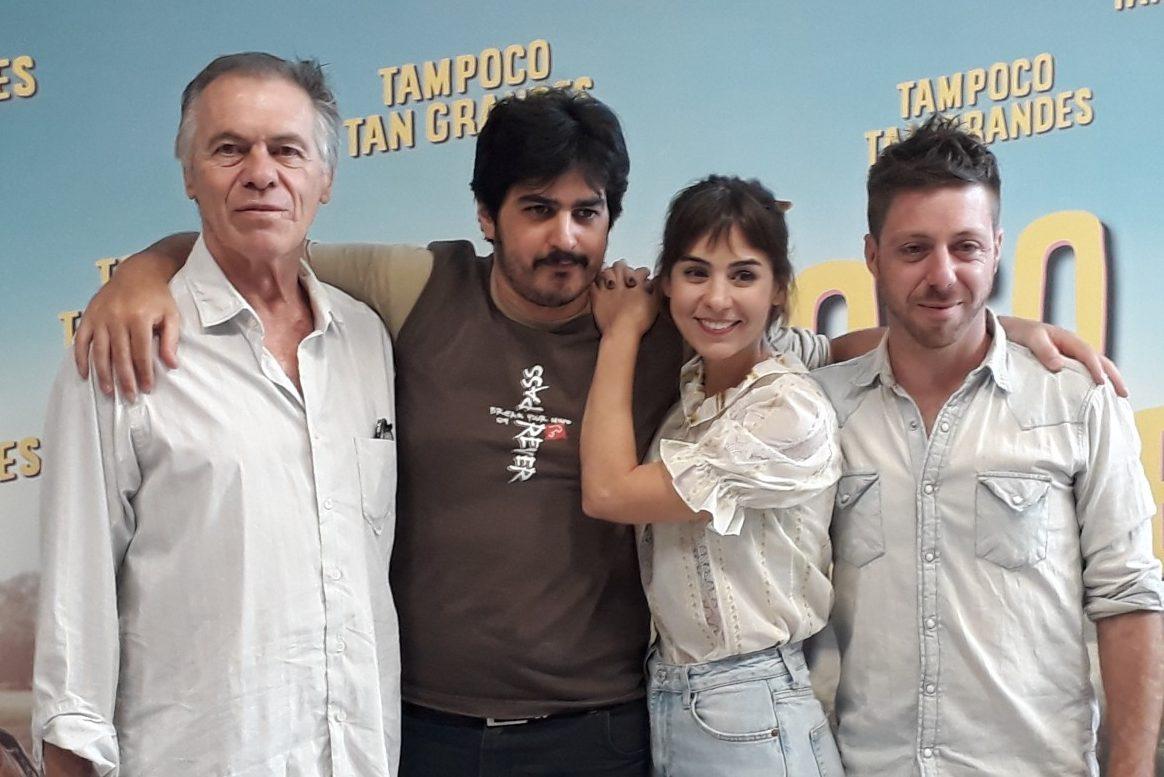 Federico Sosa dirige «Tampoco tan grandes»: «La película habla de crecer y de aceptar lo que uno es»