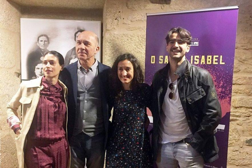 Darío Grandinetti rueda en España la coproducción «El Santa Isabel», historia de un naufragio ocurrido en 1921