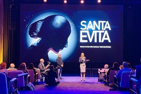 «Santa Evita» será serie en 2020, dirigida por Rodrigo García y con guión de Marcela Guerty