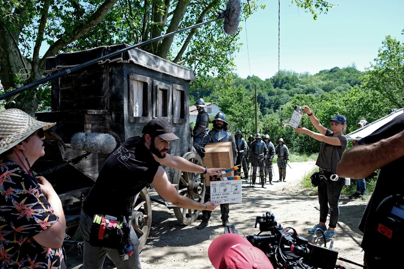 Pablo Agüero terminó el rodaje de la coproducción «Akelarre», que se estrena en 2020