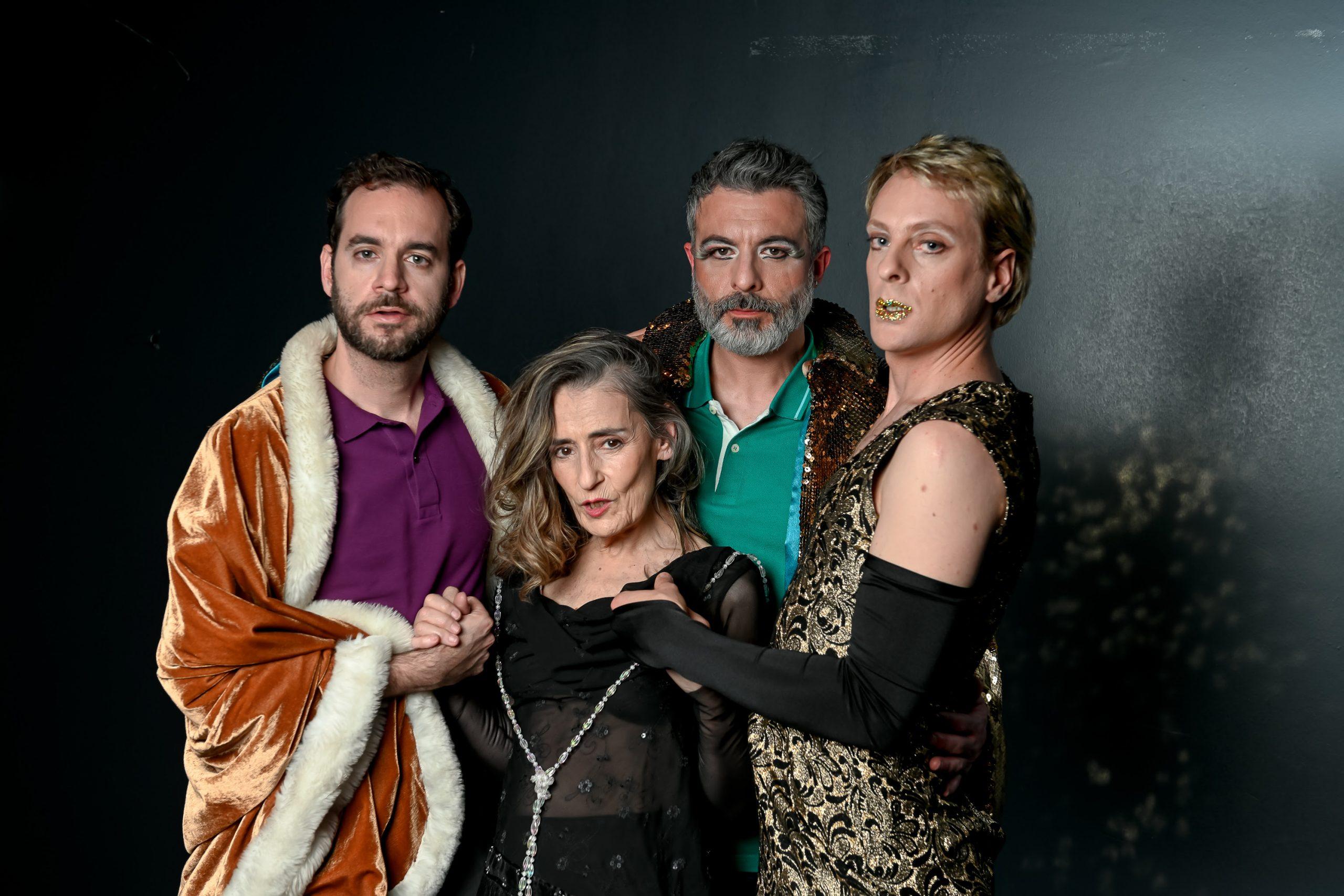 Teatro: «Retratos de masculinidades» se estrena el jueves 23